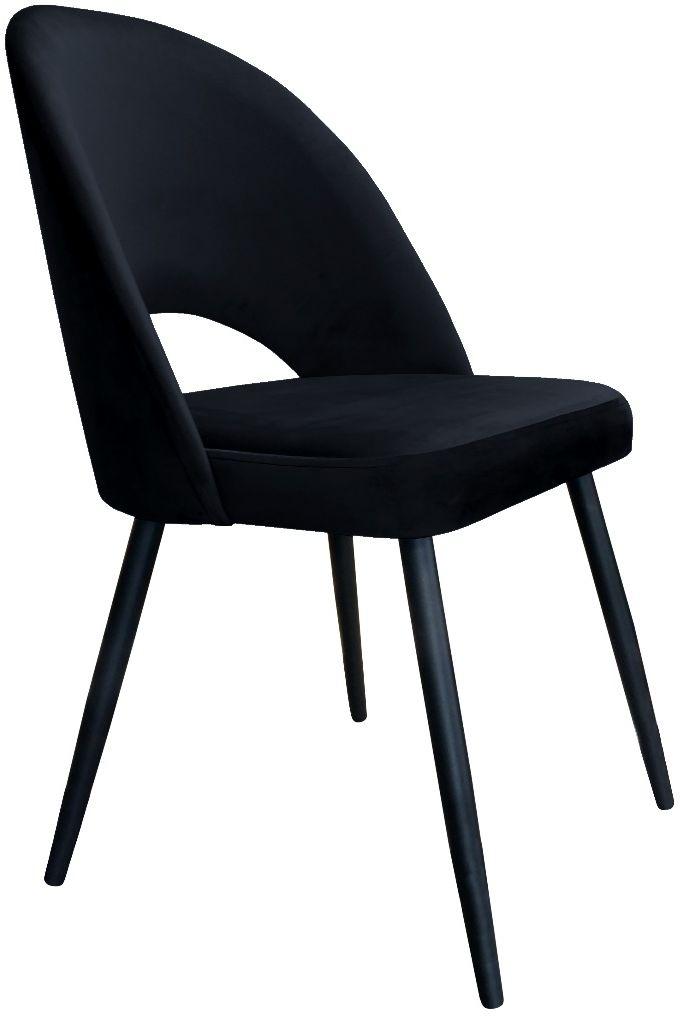 Krzesło ISKAR VELVET czarne