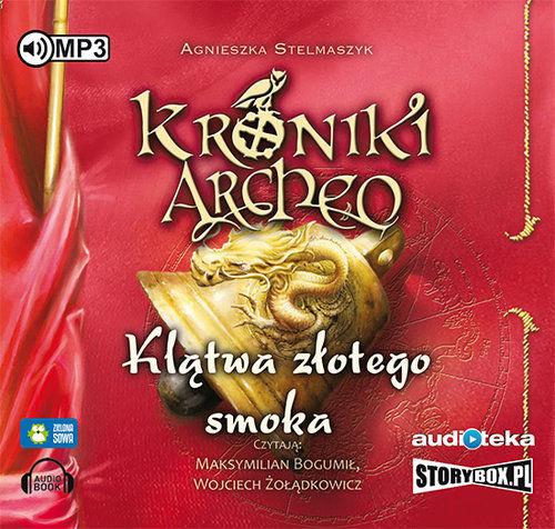 Klątwa złotego smoka cz. 4 - Kroniki Archeo ZAKŁADKA DO KSIĄŻEK GRATIS DO KAŻDEGO ZAMÓWIENIA