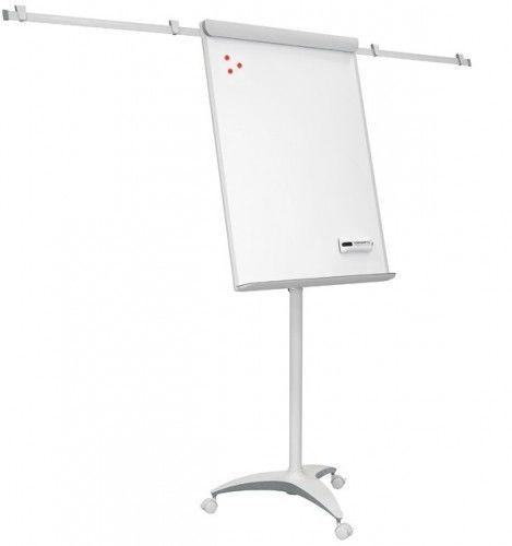 Flipchart office PRO Red lakierowany mobilny z ramionami