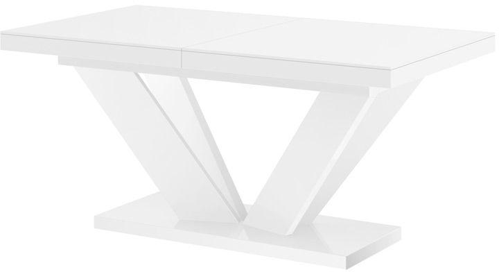 Stół rozkładany VIVA 2 biały wysoki połysk