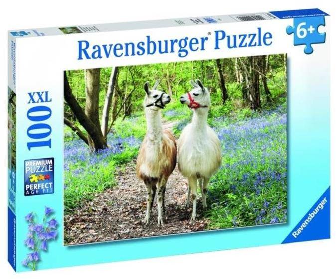Puzzle 100 Przyjaźń zwierząt XXL - Ravensburger