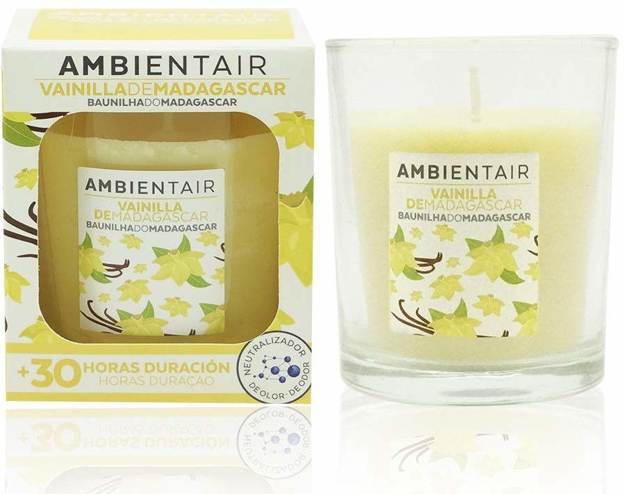 Ambientair świeca zapachowa wanilii o szacunkowym czasie 30 godzin, brązowa