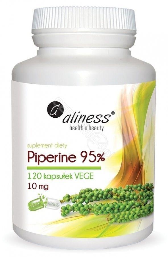 Piperine 95% 10 mg 120 kapsułek