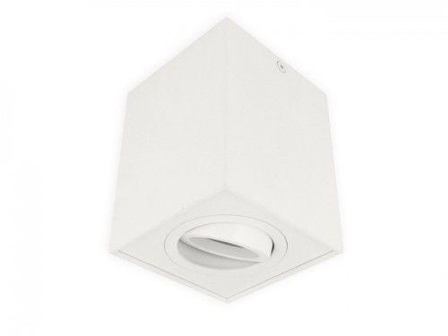 Oprawa sufitowa natynkowa kwadratowa ruchoma GU10 230V CUBO - biały mat