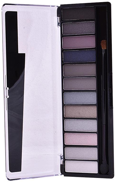 Rimmel London MagnifEyes Eyeshadow Palette 003 Smokey 12 Shades