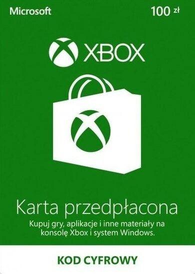 Xbox Live Pre-paid - 100 PLN (Digital - kod online)