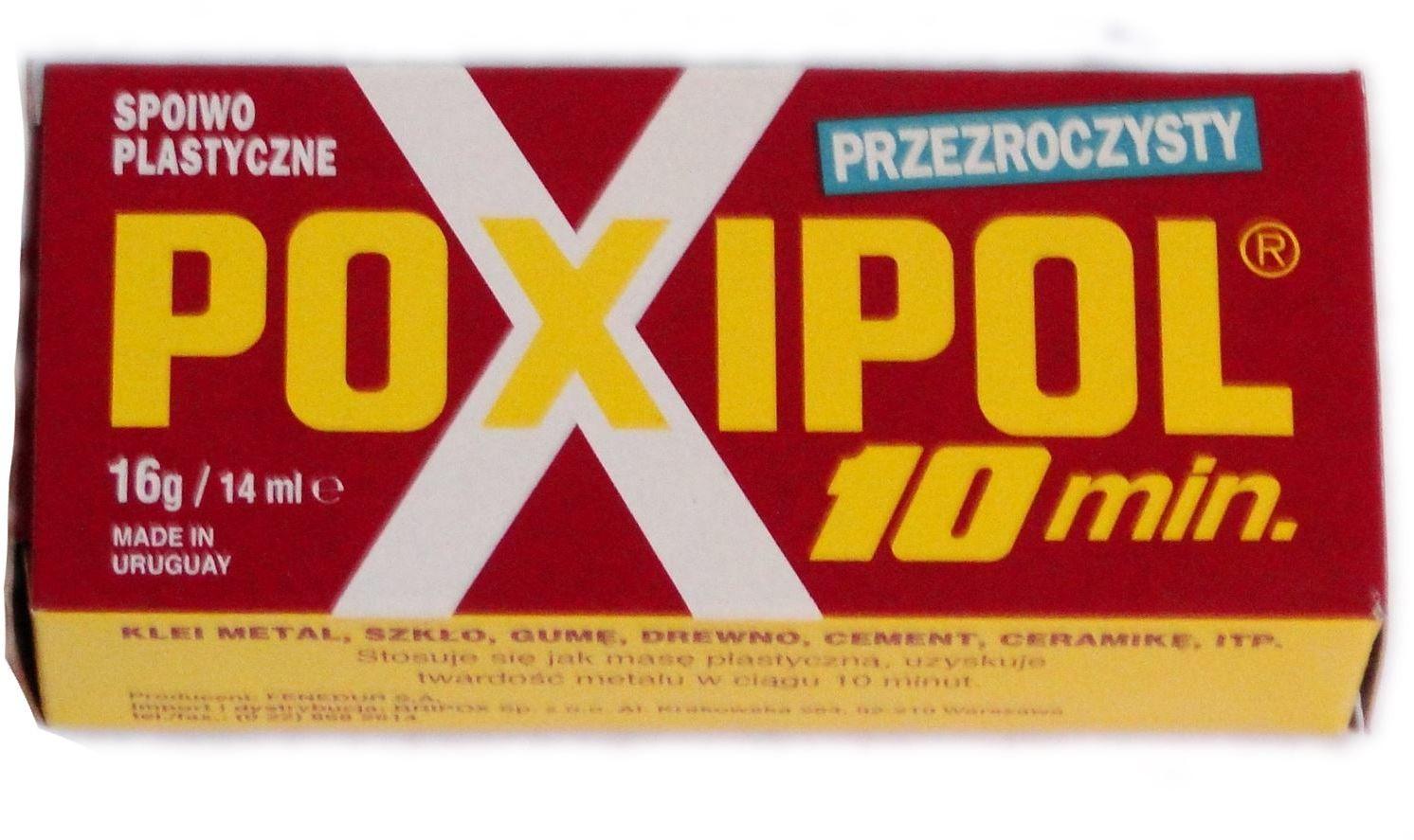 Klej Poxipol 82g (czerwony)