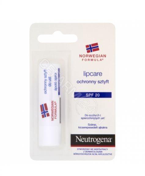 Neutrogena Lip Care balsam do ust SPF 20 4,8 g + do każdego zamówienia upominek.