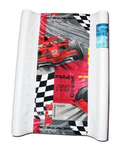 pokrowiec bawełniany uniwersalny z gumką na przewijak Formula1