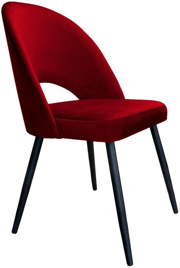 Krzesło ISKAR VELVET bordowe