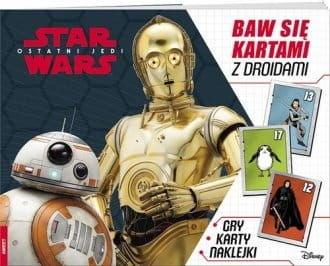 Baw się kartami z Droidami Star Wars Ostatni Jedi