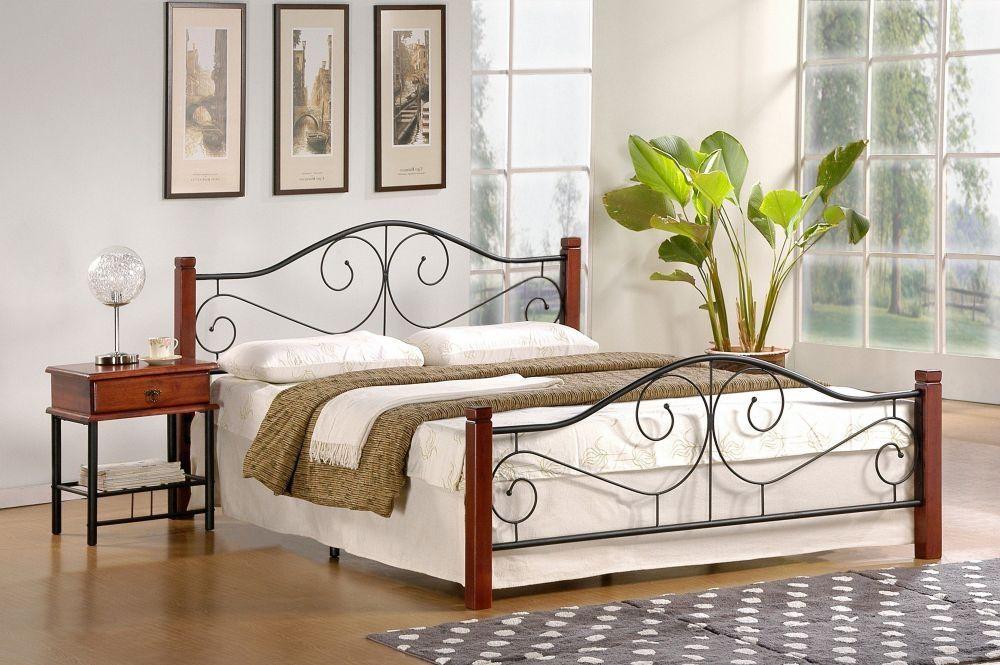 Łóżko Violetta 160 czereśnia antyczna Halmar