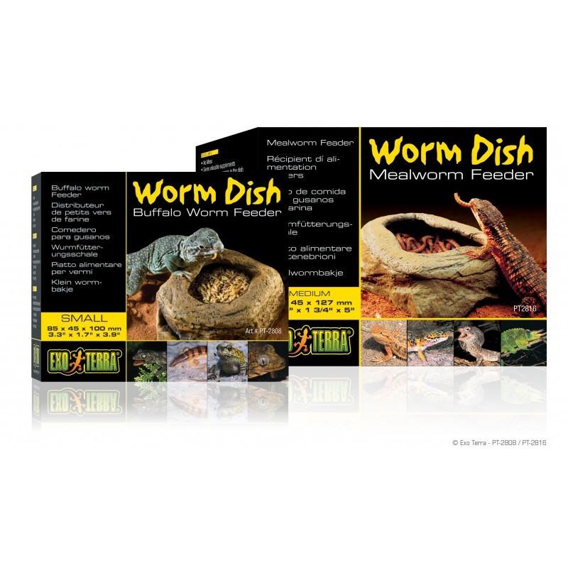 Exo-Terra Miska na robaki Worm dish / Mealworm Feeder