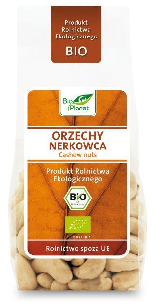 Orzechy Nerkowca 100g - Bio Planet - EKO