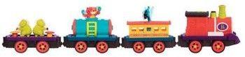 B.toys - Wood & Wheels Wooden Train Set in a Bucket górska kolejka