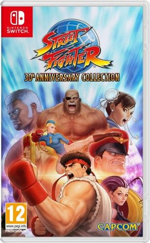Street Fighter 30th Anniversary Collection NS