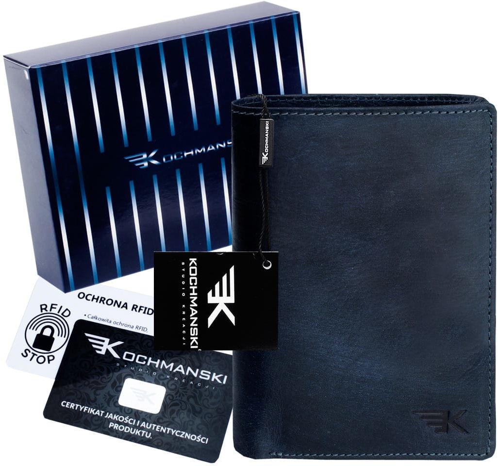 KOCHMANSKI skórzany portfel męski młodzieżowy 3067