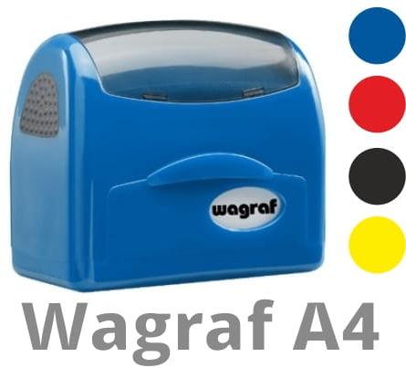 Pieczątka Wagraf A4 (59 x 21 mm)