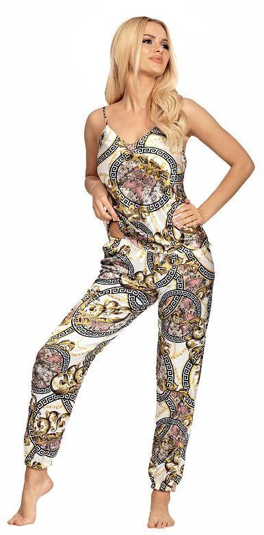 Luksusowa piżama satynowa Donatella 01
