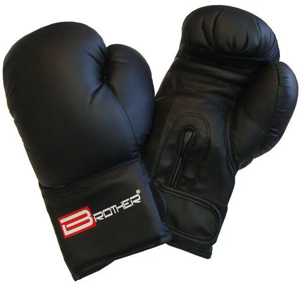 Rękawice bokserskie ze skóry PU - rozmiar XL, 14 oz.