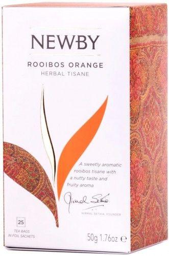Herbata Newby Rooibos Orange 25t 50g