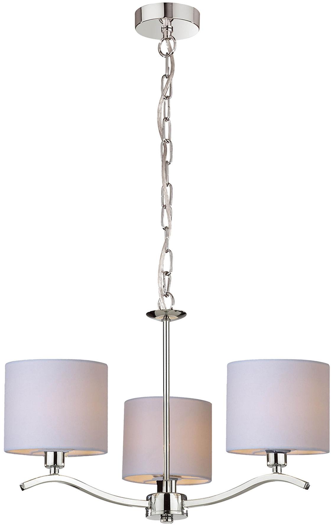 Zuma Line RLD94103-3 CARMEN lampa wisząca beżowa 3xE14 40W 48cm