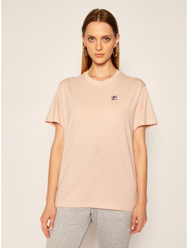 Fila T-Shirt Nova 682319 Różowy Regular Fit