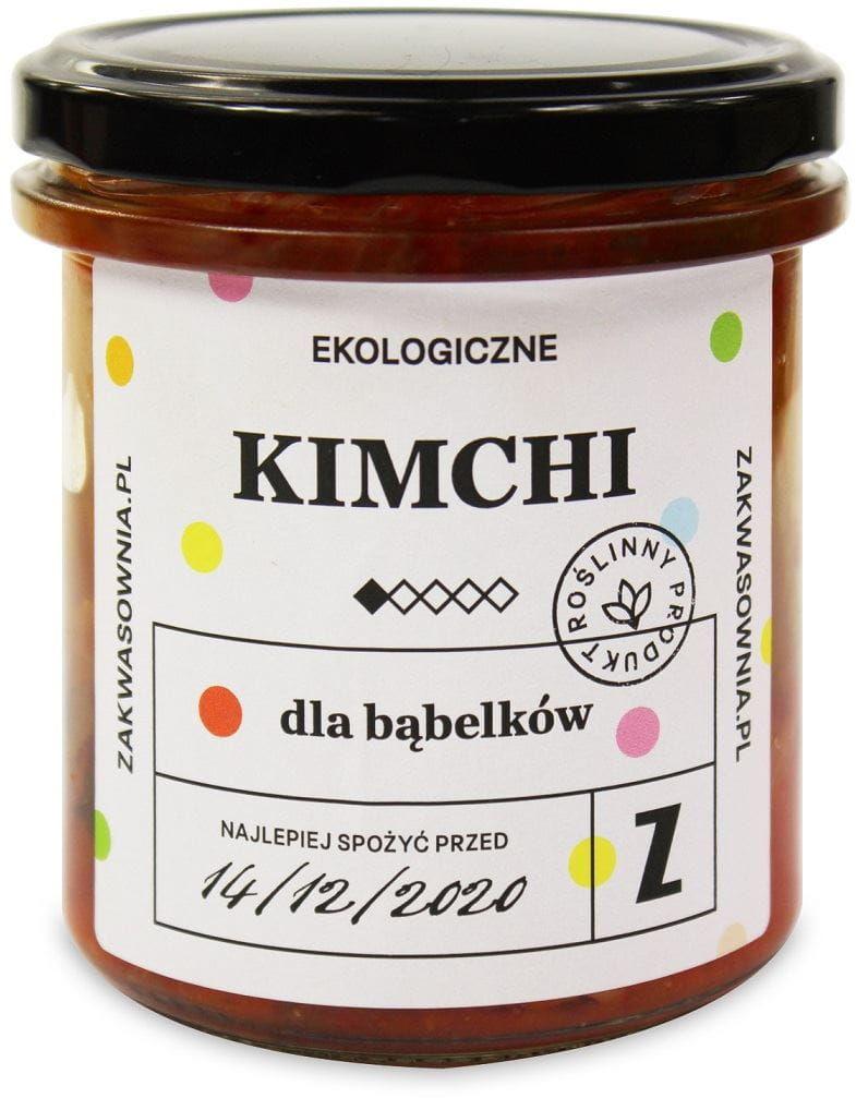 Kimchi dla bąbelków bio 300 g - zakwasownia