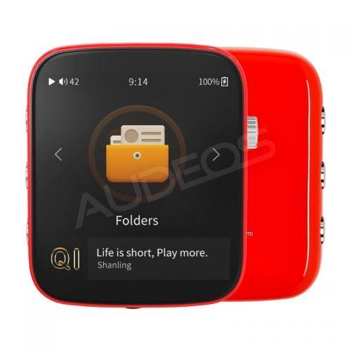 Shanling Q1 (czerwony) - DAP z ES9218P, LDAC, aptX