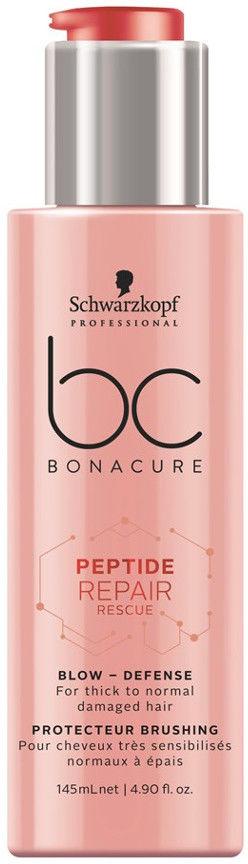 Schwarzkopf Professional BC Bonacure Peptide Repair Rescue krem odżywczo-ochronny do włosów zniszczonych suszeniem 145 ml