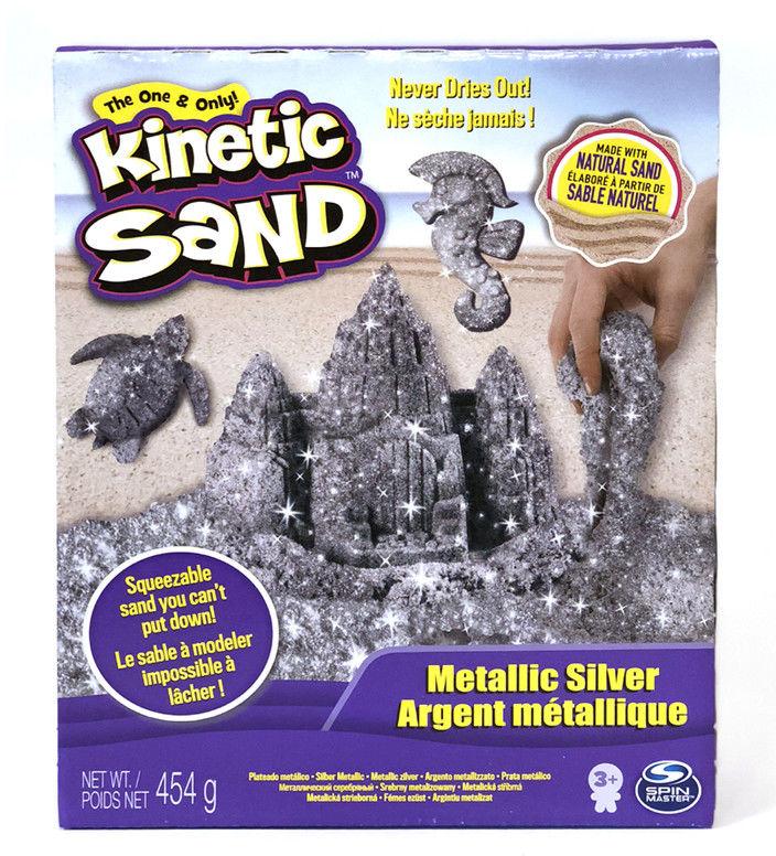 Kinetic Sand - Piasek metalic silver 20099970