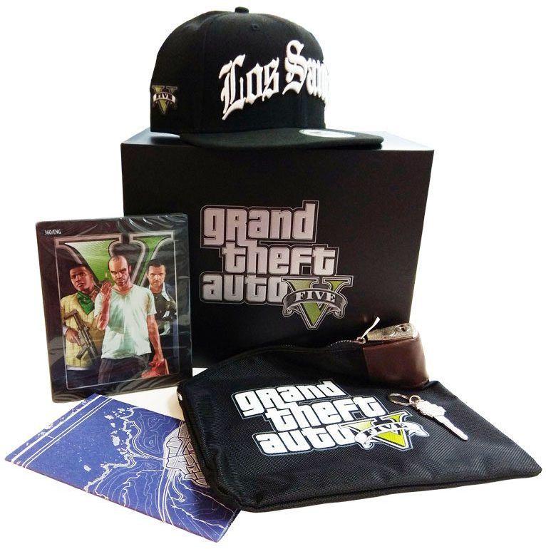 GTA V Edycja Kolekcjonerska / Xbox 360 / Warszawa / 533 111 700