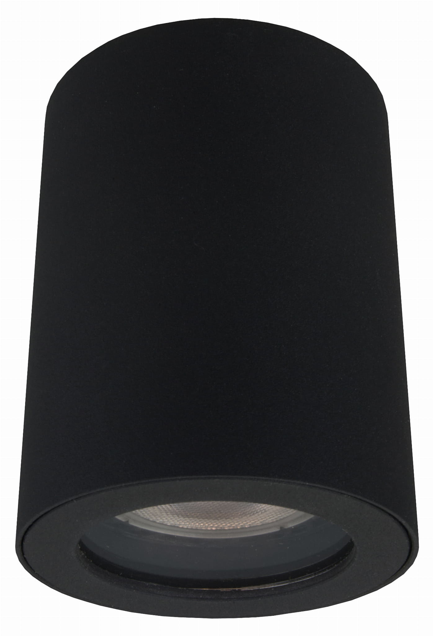 Light Prestige Faro LP-6510/1SM BK oprawa stropowa natynkowa metalowa czarna tuba 1x50W GU10 IP65 8,8cm