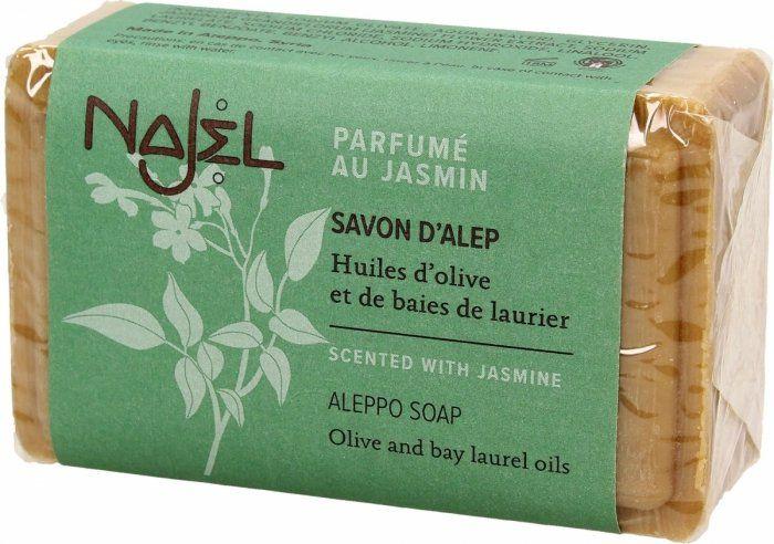 Mydło Aleppo Jaśminowe Najel, 100g