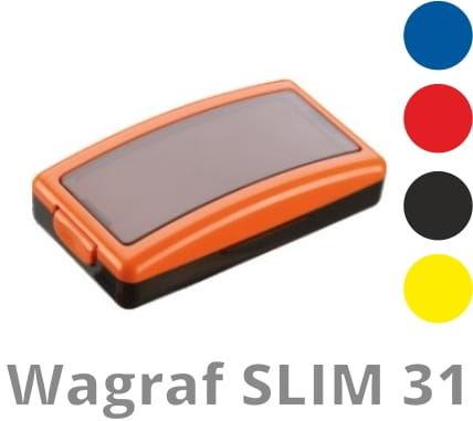 Pieczątka Wagraf SLIM 30 (38 x 12 mm)