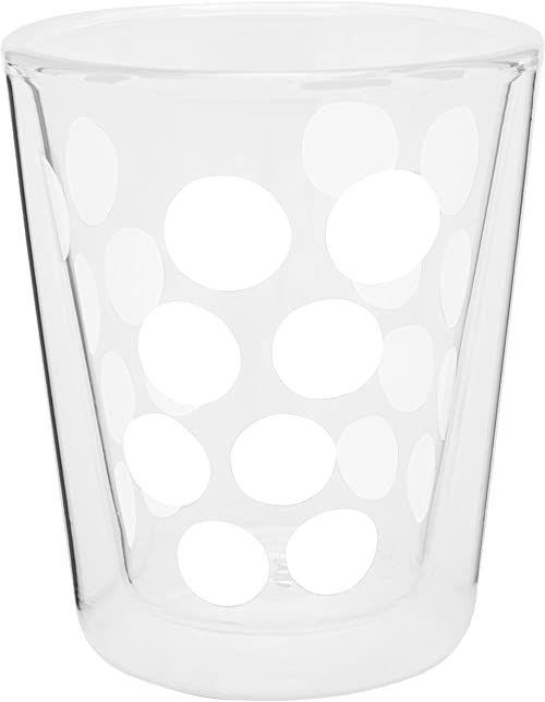 Zak Dot podwójna ścianka szkło 20 cl, biała