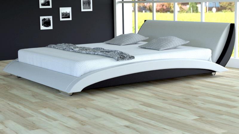 Łóżko do sypialni Liberty skóra naturalna