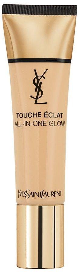 Yves Saint Laurent Touche Éclat All-In-One Glow podkład w płynie SPF 23 odcień B30 Almond 30 ml