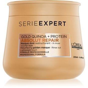 LOréal Professionnel Serie Expert Absolut Repair Gold Quinoa + Protein Intensywna maska regenerująca do bardzo zniszczonych włosów 250 ml