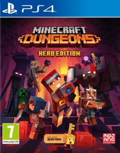 Minecraft Dungeons Hero Edition PS 4