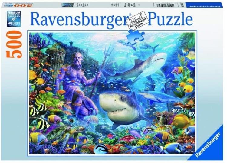 Puzzle 500 Władca mórz - Ravensburger