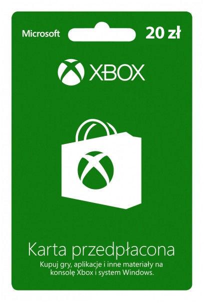 Xbox Live Pre-paid - 20 PLN (Digital - kod online)