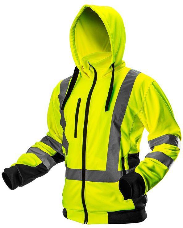 Bluza robocza ostrzegawcza, żółta, rozmiar XL 81-745-XL