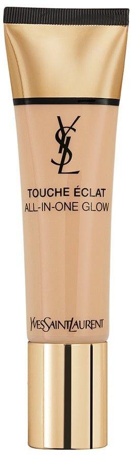 Yves Saint Laurent Touche Éclat All-In-One Glow podkład w płynie SPF 23 odcień B40 Sand 30 ml