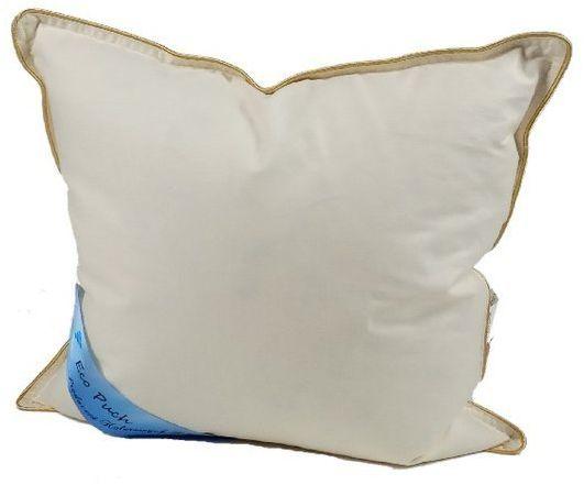 Poduszka z pierza 40x40 cm 0,3kg kremowa