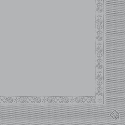 García de Pou 152.53 - serwetki ekologiczne 2-warstwowe 18 g/m2 39 cm szara chusteczka - 100 sztuk