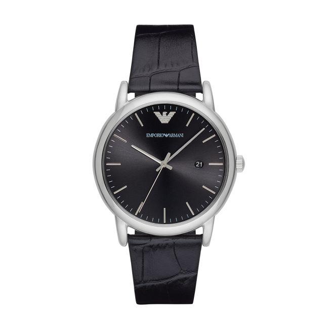 Zegarek EMPORIO ARMANI - Luigi AR2500 Black/Silver
