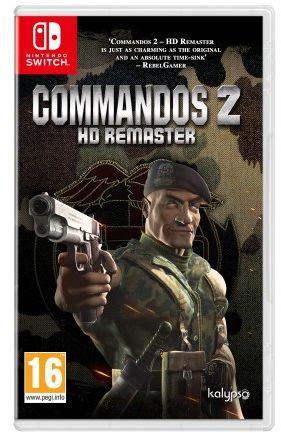 Commandos 2 HD Remaster NS