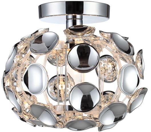 Light Prestige Ferrara S LP-17060/1C plafon lampa sufitowa nowoczesna kula chrom 1x60W E14 25cm