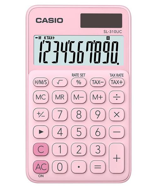 Kalkulator Casio SL-310UC-PK TAX CZAS PAMIĘĆ